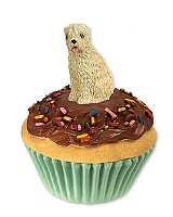 Soft Coated Wheaten Terrier Pupcake Trinket Box