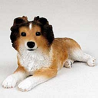 Sheltie Sable Puppy Figurine