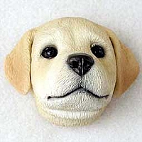 Labrador Retriever Yellow Puppy Magnet