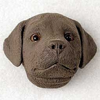 Labrador Retriever Chocolate Puppy Magnet