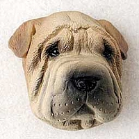 Shar Pei Brown Puppy Magnet