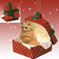 Red Persian Gift Box Ornament