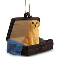 Golden Retriever Traveling Companion Ornament