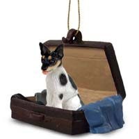 Rat Terrier Traveling Companion Ornament