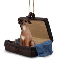 Italian Greyhound Traveling Companion Ornament