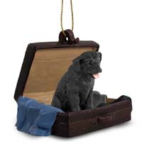 Labrador Retriever Black Traveling Companion Ornament