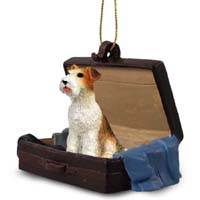 Wire Fox Terrier Traveling Companion Ornament