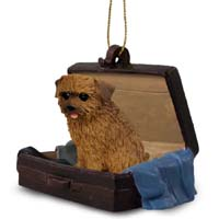 Norfolk Terrier Traveling Companion Ornament
