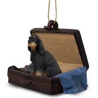 Gordon Setter Traveling Companion Ornament