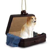 Borzoi Traveling Companion Ornament