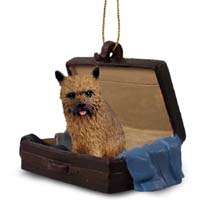 Norwich Terrier Traveling Companion Ornament