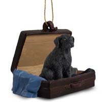 Flat Coated Retriever Traveling Companion Ornament