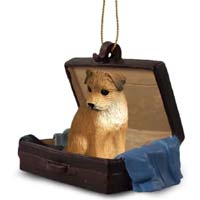Border Terrier Traveling Companion Ornament