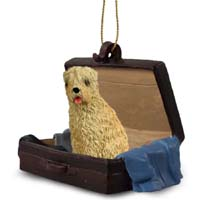 Soft Coated Wheaten Terrier Traveling Companion Ornament