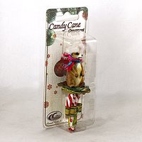 Ornament Candy Cane Animals