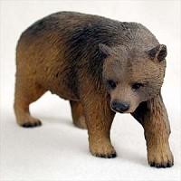 Bear Brown Standard Figurine