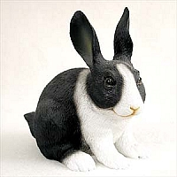 Rabbit Black White
