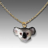 Koala Tiny One Head Pendant