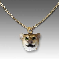 Cougar Tiny One Head Pendant