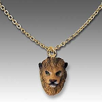 Lion Tiny One Head Pendant