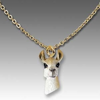 Llama Tiny One Head Pendant