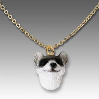 Ferret Tiny One Head Pendant