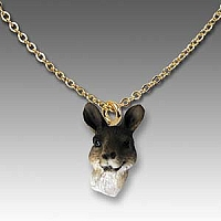 Kangaroo Tiny One Head Pendant