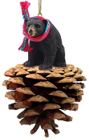 Bear Black Pinecone Pet Ornament