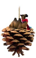 Camel Bactrian Pinecone Pet Ornament