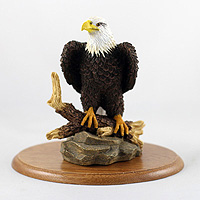 Eagle Bald Figurine