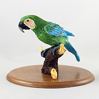 Parrot Green Figurine