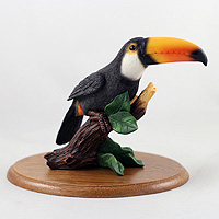Toucan White Breasted Figurine