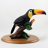 Toucan Sulphur Breasted Figurine