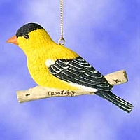 Gold Finch Suncatcher