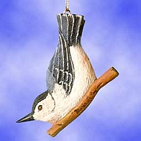 Nuthatch Hanging Suncatcher