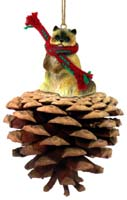 Ragdoll Pinecone Pet Ornament