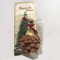Ornament Pinecone Pets Cats