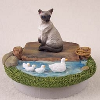 Siamese Candle Topper Tiny One