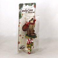 Ornament Candy Cane Dogs
