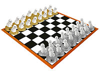 Bichon Frise Chess Set (Pieces Only)