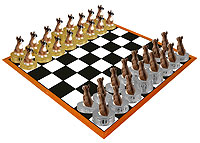 Boxer Chess Set (Pieces Only)