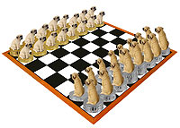 Mastiff Chess Set (Pieces Only)