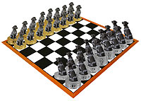 German Short Hair Chess Set (Pieces Only)