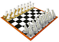 Great Pyrenees Chess Set (Pieces Only)