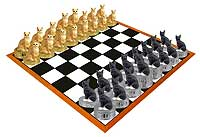 Chess Sets Cats