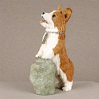 Welsh Corgi Pembroke My Dog Fur Figurine
