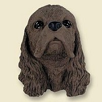 Cocker Spaniel Brown Doogie Head