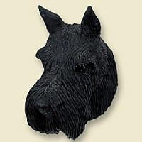 Schnauzer Giant Black Doogie Head
