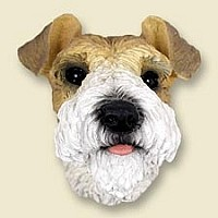 Wire Fox Terrier Red Doogie Head
