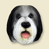 Bearded Collie Doogie Head